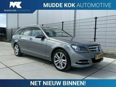 tweedehands Mercedes 180 C-Klasse EstateCDI Ambition Avantgarde | Aut | Schuif/Kanteldak | Leder | Xenon | Navigatie