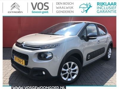 tweedehands Citroën C3 PureTech 110 S&S Feel | Navigatie | Sensoren | Carplay | Clima | Dealer onderhouden | Eerste eigenaar | Prijs is rijklaar