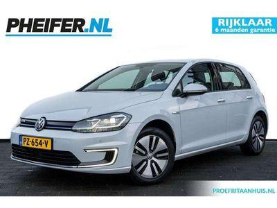 tweedehands VW e-Golf e-Golf136pk Aut. Excl. BTW!! / Incl. BTW 22.340,- Discover Pro navigatie / Adaptive cruise / Snellaad / LED