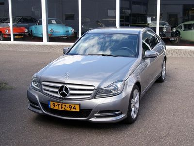 tweedehands Mercedes C180 Ambition Avantgarde Navi,Clima,Cruise,Bi-Xenon,Pdc,RIJKLAARPRIJS!!