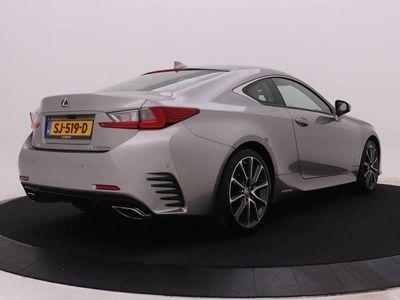 tweedehands Lexus RC300h Luxury Line | Mark Levinson Audio | Clove Leder |