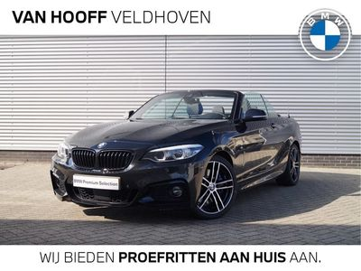 "tweedehands BMW 220 2-SERIE Cabrio i M Sport High Executive / 18"" / Adaptief M Onderstel / Adaptieve LED / Adaptieve Cruise Control / Harman Kardon / Safety Pack"