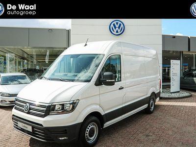 tweedehands VW Crafter 35 2.0 TDI 140pk 3H3 Highline | Navigatie, Bijrijdersbank, Ergo-Comfortstoel |
