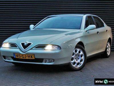 tweedehands Alfa Romeo 166 2.5 V6 AUT.|Leer|Navigatie|Stoelverw.|