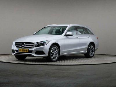tweedehands Mercedes C350e C-Klasse EstateLease Edition Avantgarde, Automaat, LED, Navigatie