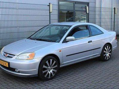 tweedehands Honda Civic Coupé 1.7i!! AIRCO!! 213.000km! BJ 05-2001!!