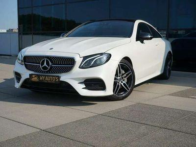 tweedehands Mercedes E200 Coupé Premium Plus 2xAMG| Widescreen| Panoramadak|