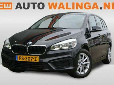 tweedehands BMW 218 2-SERIE Gran Tourer i Automaat, NL Auto, 1e Eig, Dealeronderhouden, Zwart, Keurige auto, Hoge zit!