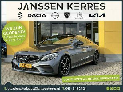 tweedehands Mercedes 300 C-Klasse CoupéPremium Plus Pack SCHUIF / - KANTELDAK / 19 INCH VELGEN / BURMESTER AUDIO