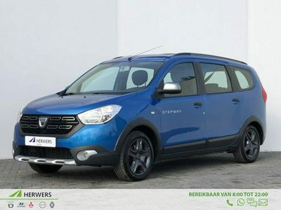 tweedehands Dacia Lodgy 1.2 TCe 115 Stepway FACELIFT | Navigatie | Airco | Parkeersensoren | Cruise control | Elek. Ramen