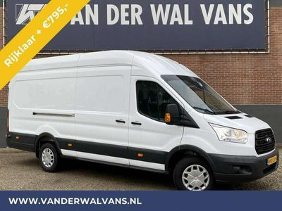 tweedehands Ford Transit 350 2.0TDCI 130PK L4H3 JUMBO Trend Airco PDC, Came
