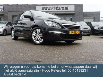 tweedehands Peugeot 308 1.2 PT 110pk Bluetooth/Cruise/Clima/Navi/PDC/Velge
