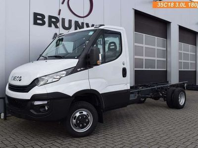 tweedehands Iveco Daily 35C18 3.0 180pk Euro 6, NIEUW!! wb 410cm, Chassis