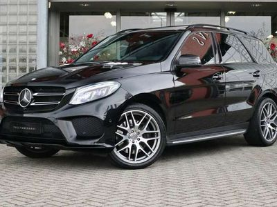 tweedehands Mercedes GLE400 4MATIC AMG-Line, Offroad pakket, Rij-assistentie p