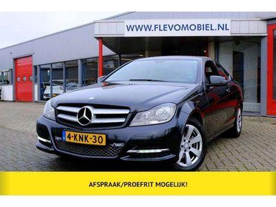 tweedehands Mercedes 220 C-Klasse CoupéCDI 170pk BlueEFFICIENCY Edition Leder|Navi|Clima|PDC