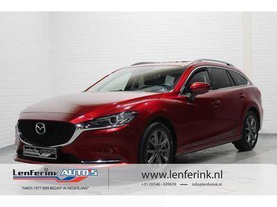 tweedehands Mazda 6 SportBreak 2.5i 195 pk Signature Leder, Schuif/kan teldak, 360º Camera, BOSE, Do
