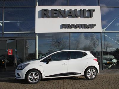 tweedehands Renault Clio 90PK-LIMITED-19DKM-NAVI-CLIMA-CRUISE-PDC-BLACK TOP-
