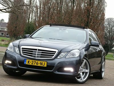 tweedehands Mercedes E500 V8 387PK+ Avantgarde / AMG-pakket / LED