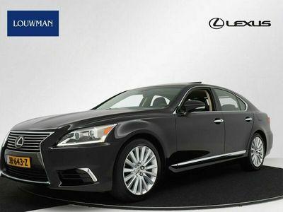 tweedehands Lexus LS460 LS-SERIEV8 Executive Line Automaat | REAR SEAT ENTERTAINMENT | MARK LEVINSON | SCHUIFDAK |