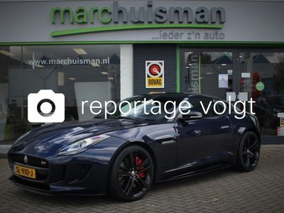 tweedehands Jaguar F-Type 3.0 V6 S Coupé AWD 380 pk / PERFORMANCE STOELEN / PANODAK / MERIDIAN