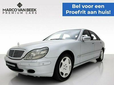 tweedehands Mercedes S600 Lang Youngtimer Nw. Prijs € 158.823 VOL! Pano Memory