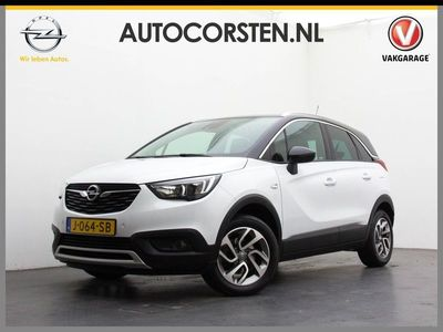 "tweedehands Opel Crossland X 1.2 110 pk Lane-Assist Bordenherk. Navi Ecc Pdc-V+Achter H-Up.Display Cruise-Control 16""LM Wifi-OnStar App-Connect Tel.BlueTooth Usb Elek.Spiegels+Ramen-V+Achter Turbo Innovation"