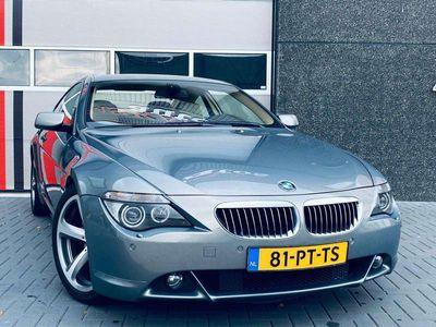 tweedehands BMW 645 Ci Coupe Aut / 333pk V8 / Stratus Grijs / Precisio