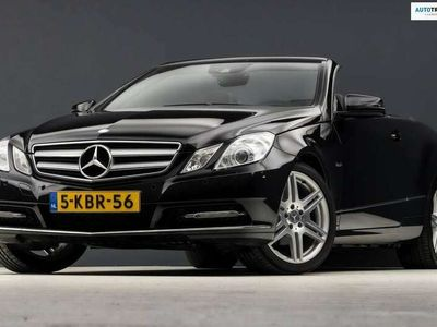 tweedehands Mercedes E200 Cabriolet CGI AMG Sport Automaat 184Pk (NAVIGATIE,