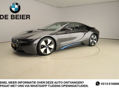 tweedehands BMW i8 15% Bijtelling !!! LED / Leder / HUD / Keyless go / Stoelverwarming / Harman-kardon sound / Alu 20 inch