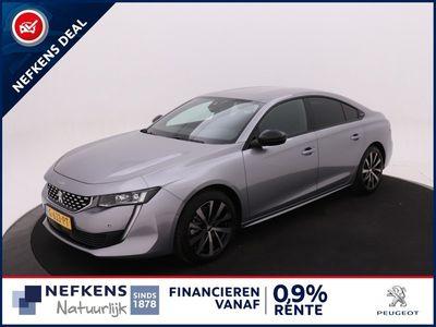 tweedehands Peugeot 508 1.6 181 PK PureTech GT Line Automaat EAT8 *FULL LED*CAMARA*NAVIGATIE*18 INCH LMV*   NEFKENS DEAL  