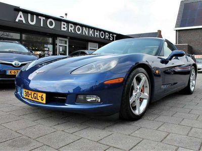 tweedehands Chevrolet Corvette C6 6.2 V8 COUPE | AUT | TARGA | 83000 KM! *UNIEK*
