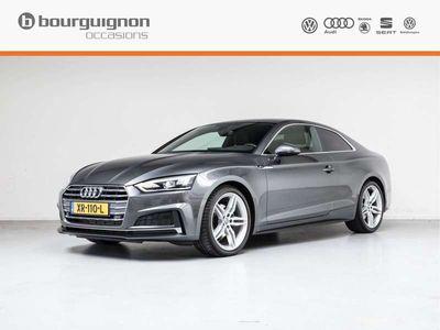 "tweedehands Audi A5  Coupé 2.0 TFSI MHEV Sport S-Line Edition ,MMI Navi Plus, Stoelverwarming, S-line, 19""-LM"