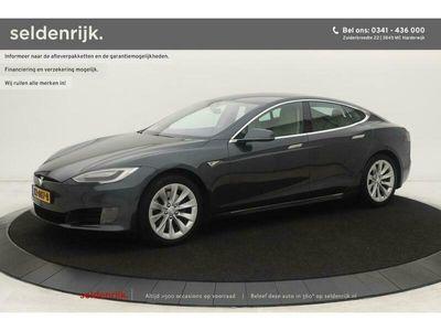 tweedehands Tesla Model S 90D *39.900 Excl. BTW*   1e eigenaar   Alcantara hemel   Lu