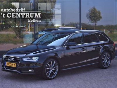 tweedehands Audi A4 Avant 2.0 TDI Automaat S-Line, Leder, Trekhaak, Adap. Cruise Control, Navigatie, Stoelverwarming