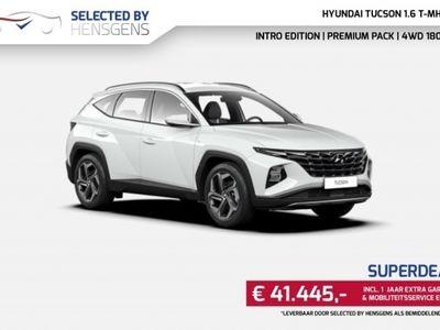 tweedehands Hyundai Tucson 1.6 T-MHEV MJ 21   4WD 180 PS   Intro ed + Premium Pack