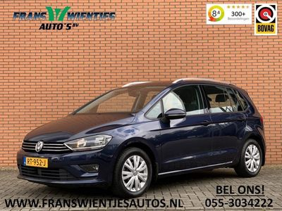 tweedehands VW Golf Sportsvan 1.6 TDI Highline   Adaptieve cruise control   Airconditioning   Parkeersensoren   Trekhaak   Automatisch inparkeren  