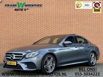 tweedehands Mercedes E200 Business Solution AMG | Panoramadak | Camera | Leder | Multibeam LED | Ambiance Pakket | Keyless Go |