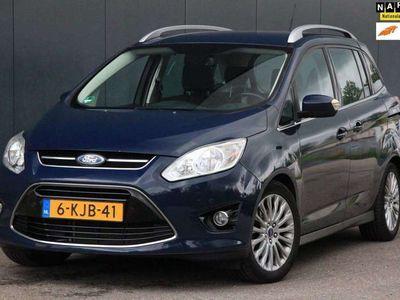 tweedehands Ford Grand C-Max 1.0 Titanium Navigatie/Camera/Parkeersensoren/Lmv