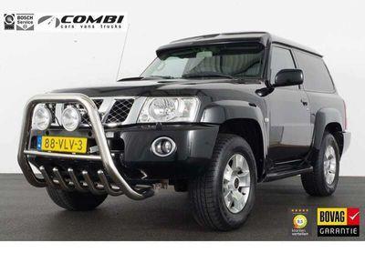 tweedehands Nissan Patrol GR 3.0 Di SE Plus 4x4 *grijs kenteken* automaat/trekhaak/navi/cruis/bullbar/4x4
