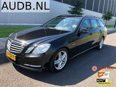 tweedehands Mercedes E200 CDI BlueEFFICIENCY Estate|Automaat|Leer|Navigatie|