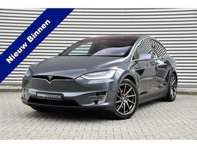 tweedehands Tesla Model X 90D Base 6p.   Incl. BTW   Autopilot   Leder   Led