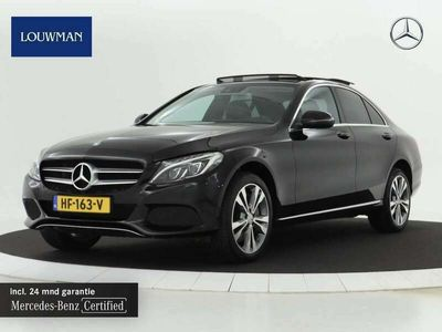tweedehands Mercedes C350e Lease Edition Plus Panoramadak | Stoelverwarming