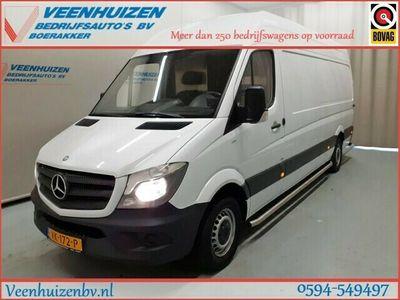 tweedehands Mercedes Sprinter 316 157PK L3/H2 Post NL Schappen CNG / Aardgas / Automaat Euro 6!