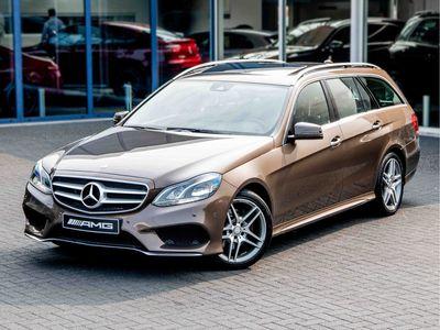 tweedehands Mercedes E250 Estate AMG Line | Leder | Pano