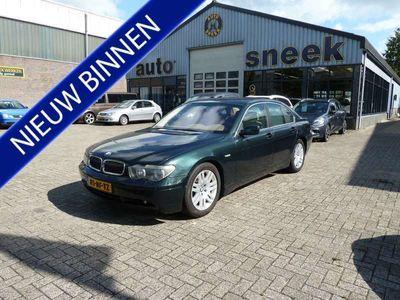 tweedehands BMW 735L 735 i Executive youngtimer automaat c cruise na