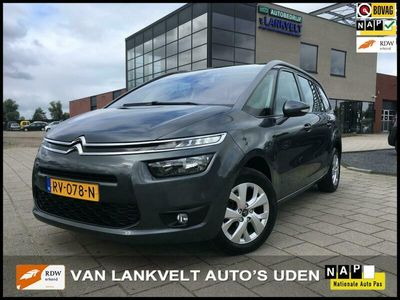 tweedehands Citroën Grand C4 Picasso 1.6 e-HDi Intensive 7 pers.Automaat pano, trekhaak