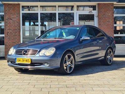 """tweedehands Mercedes CLK240 Avantgarde V6 170 pk - leder - 18"""" AMG styling - c"""