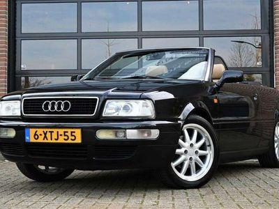 tweedehands Audi Cabriolet 2.6 V6 Dealerauto UNIEK Leder E.Kap Cruise Airco 2
