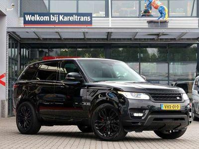 tweedehands Land Rover Range Rover Sport SDV8 340PK   Grijs kent.   Panorama   Έlectric. trekhaak   Orig. Navi   Camera..