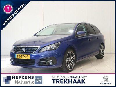 tweedehands Peugeot 308 SW 1.5 130 pk Blue Lease Premium Fabrieksgarantie